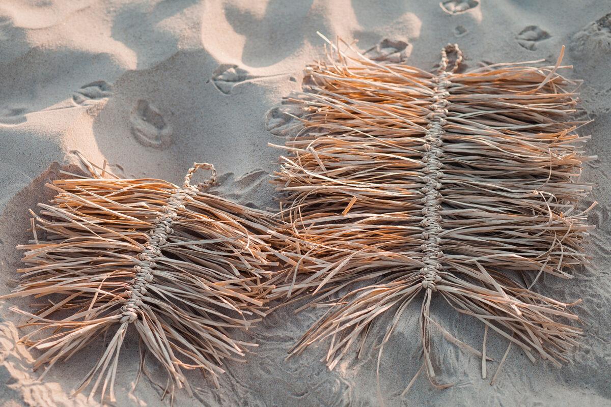 Individuāla meistarklase - rafijas lapas mezglošana