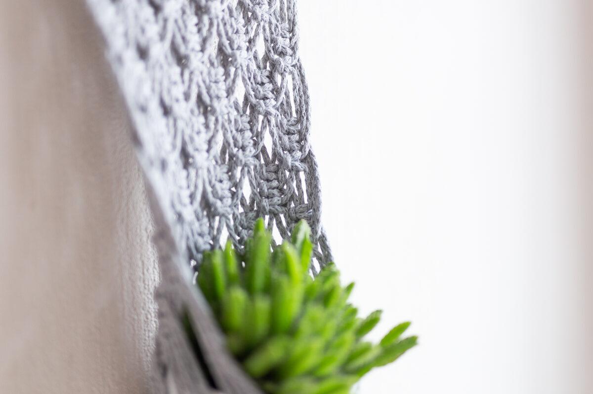 Puķu poda turētājs - sienas dekors, #6