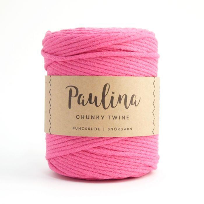 Paulina pīta aukla 5mm, 10-50m, fuksijas rozā