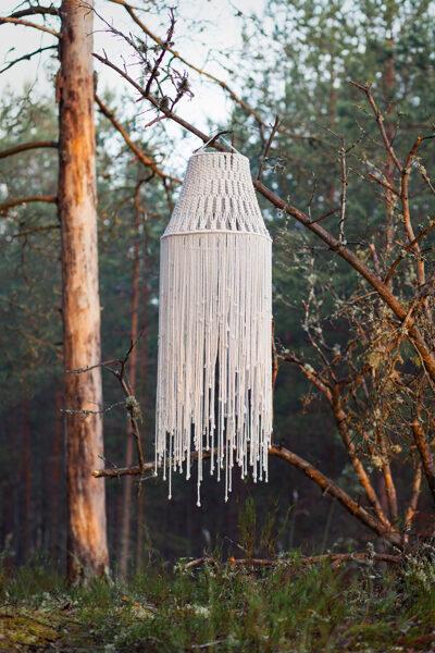 Lampu/dekoratīvu kupolu mezglošanas meistarklase