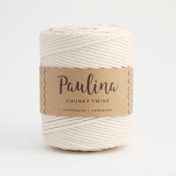 Paulina pīta aukla 5mm, 10-50m, dabīga/natural