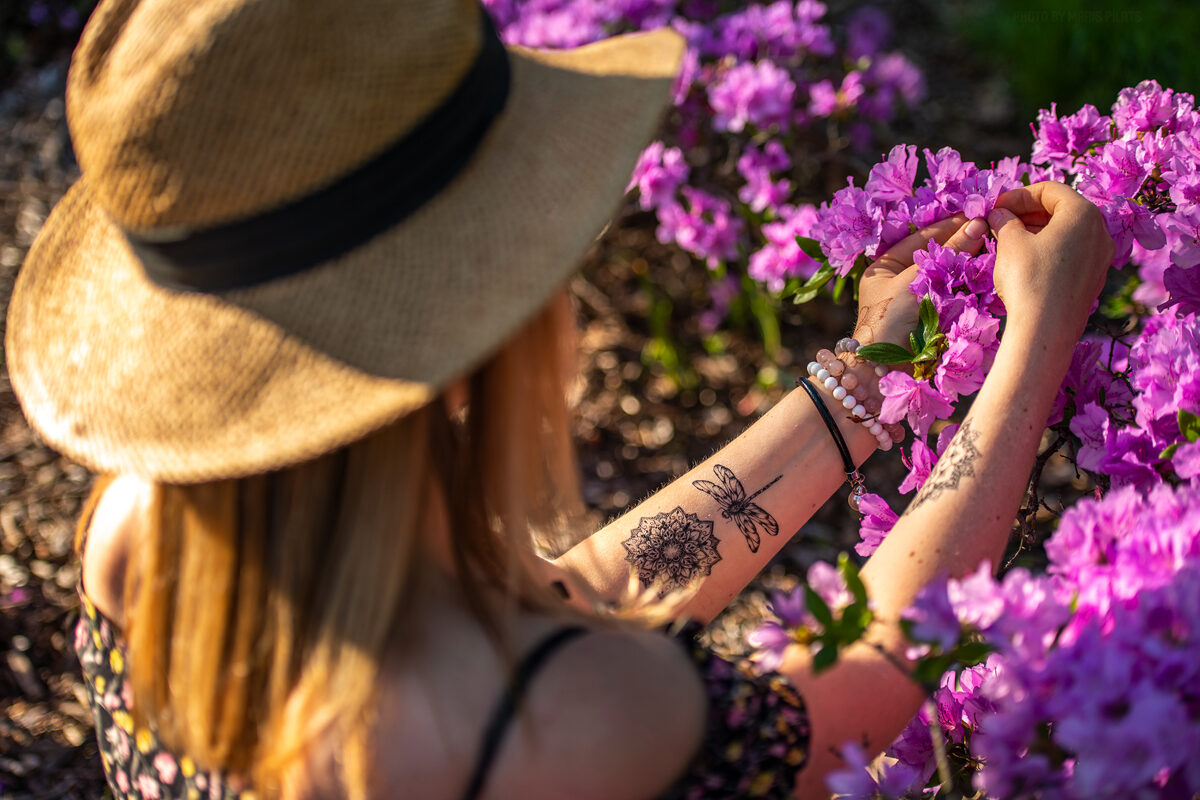 Īslaicīgie tetovējumi Ance Mežavilka